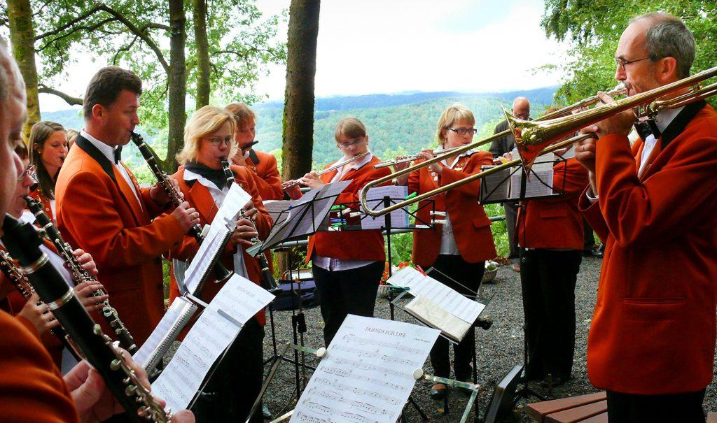 Das Margaretenfest auf der Margaretenhöhe.